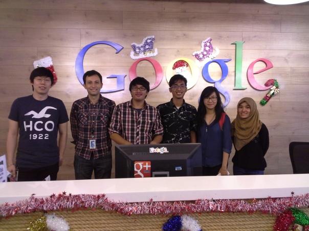 Berkunjung Ke Google Singapore.